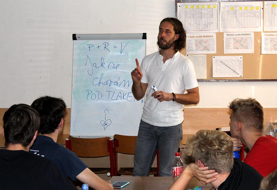 Přednáška Michala Kosmála