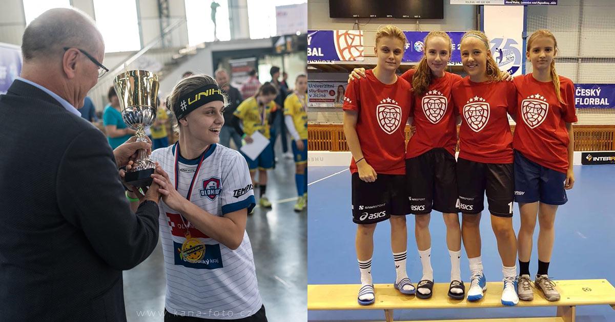 Pohár Ostrava Cup a Jičín olomoucká účast