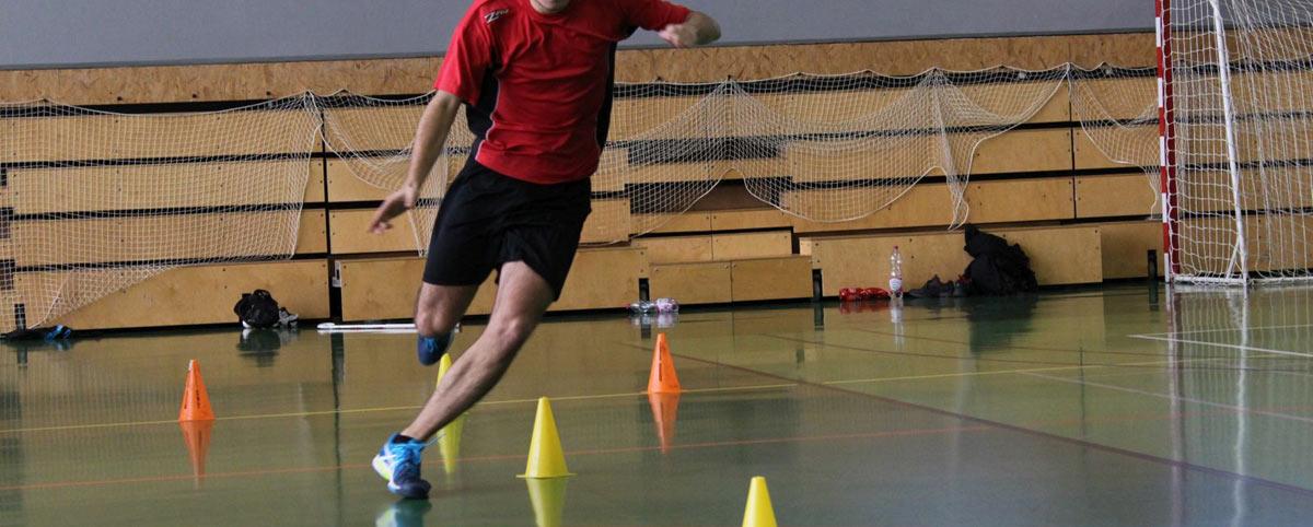 foto z tréninku na výkon