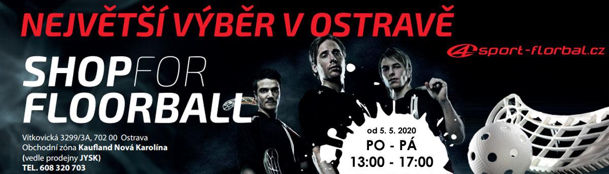 Banner Partnerská prodejna 4sport-florbal.cz