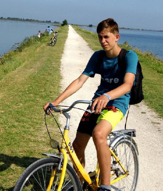 Honza na kole